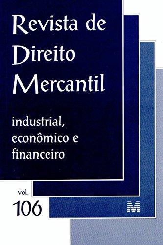 Revista De Direito Mercantil - N. 106, livro de Varios