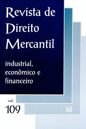 Revista De Direito Mercantil - N. 109, livro de Varios