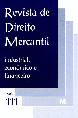 Revista De Direito Mercantil - N. 111, livro de Varios