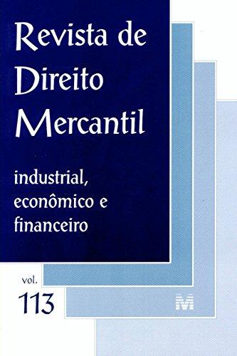 Revista De Direito Mercantil - N. 113, livro de Varios