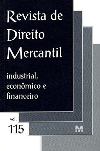 Revista De Direito Mercantil - N. 115, livro de Varios