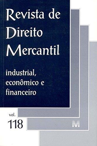 Revista De Direito Mercantil - N. 118, livro de Varios