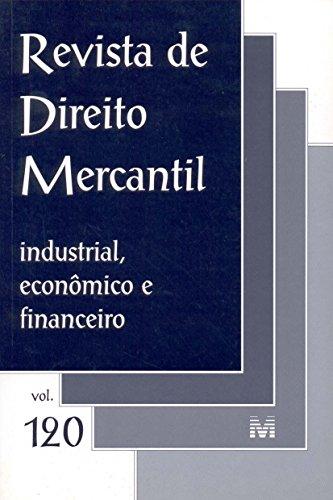 Revista De Direito Mercantil - N. 120, livro de Varios