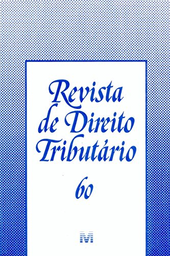 Revista De Direito Tributario - N. 60, livro de Varios