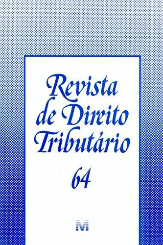 Revista De Direito Tributario - N. 64, livro de Varios