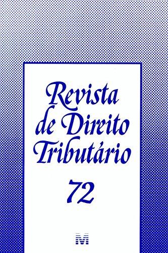 Revista De Direito Tributario - N. 72, livro de Varios