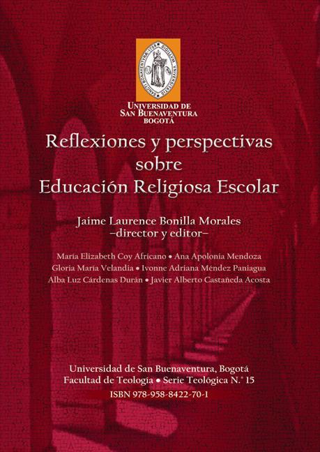 Reflexiones y perspectivas sobre educación religiosa escolar, livro de Jaime Laurence Bonilla Morales (org.)