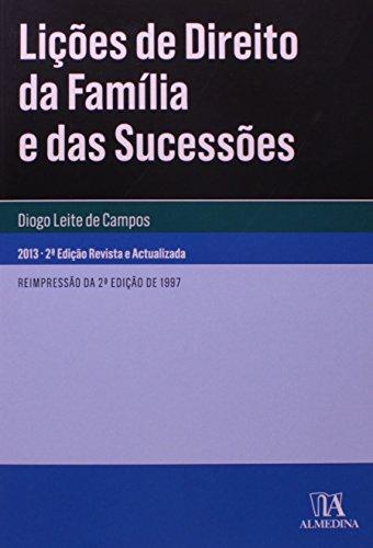 Lições de Direito da Família e das Sucessões, livro de Diogo Leite de Campos