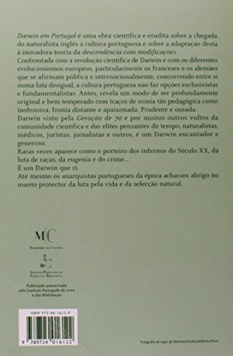 Darwin em Portugal [1865-1914] - Filosofia. História. Engenharia Social, livro de Ana Leonor Pereira