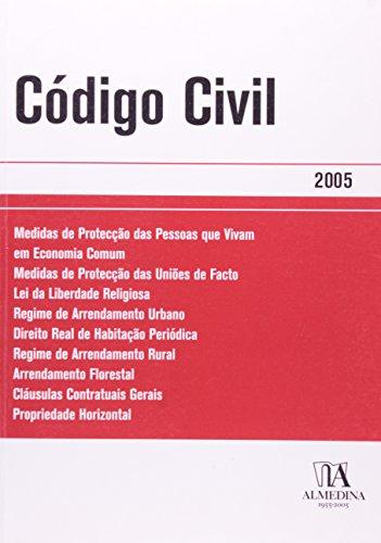 Código Civil - 2005, livro de Texto da Lei