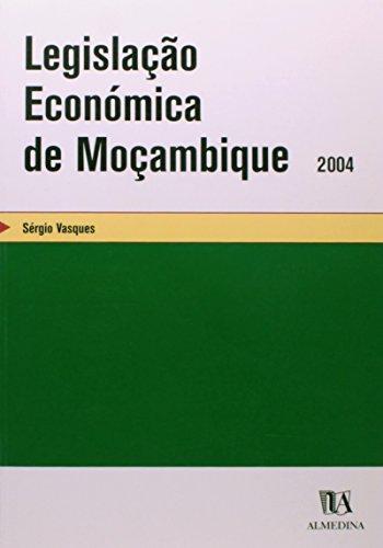 Legislação Económica de Moçambique, livro de Sérgio Vasques