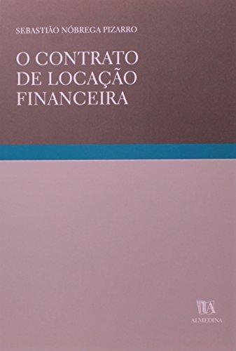O Contrato de Locação Financeira, livro de Sebastião Nóbrega Pizarro