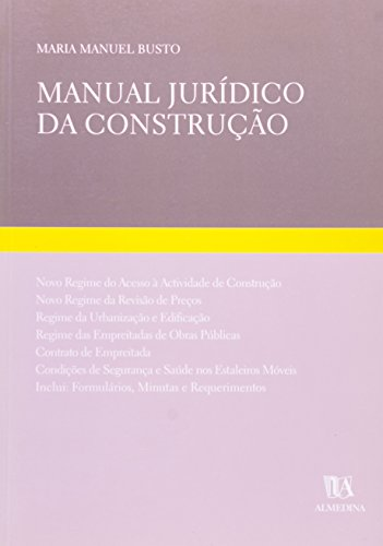 Manual Jurídico da Construção, livro de Maria Manuel Busto