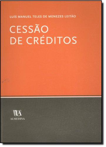 Cessão de Créditos, livro de Luís Manuel Teles de Menezes Leitão