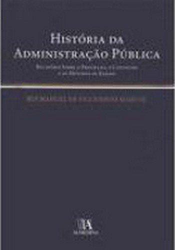 História da Administração Pública, livro de Rui Manuel de Figueiredo Marcos