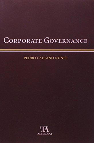 Corporate Governance, livro de Pedro Caetano Nunes