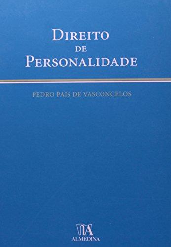Direito de Personalidade, livro de Pedro Pais de Vasconcelos