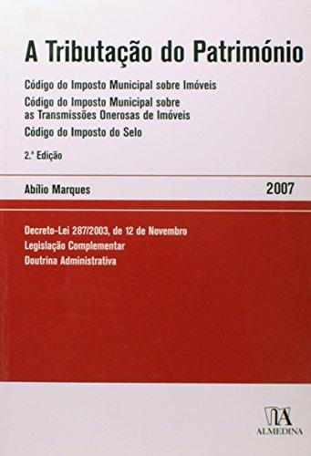 A Tributação do Património, livro de Abílio Marques