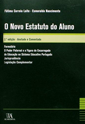 O Novo Estatuto do Aluno, livro de Fátima Correia Leite, Esmeralda Nascimento