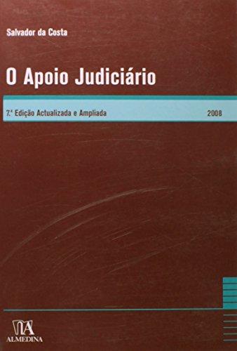 O Apoio Judiciário, livro de Salvador da Costa