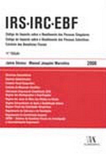 IRS IRC EBF - 2008, livro de Manuel Joaquim Marcelino, Jaime Devesa