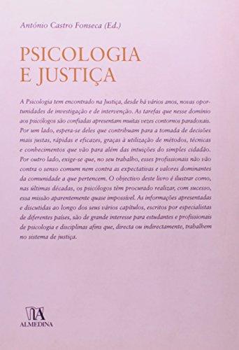 Psicologia e Justiça, livro de António Castro Fonseca