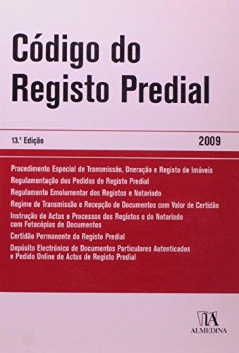 Código do Registo Predial, livro de BDJUR