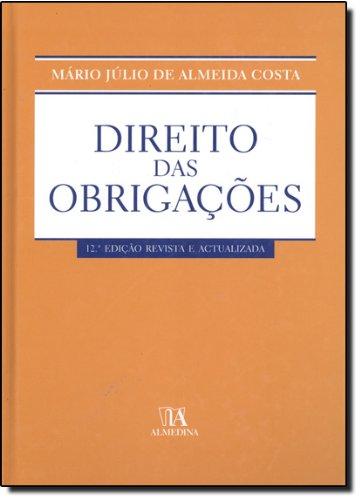 Direito das Obrigações, livro de Mário Júlio de Almeida Costa