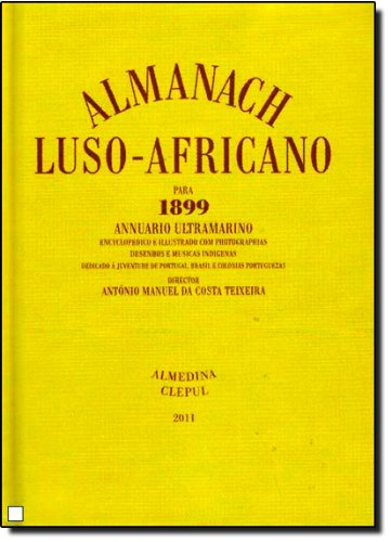 Almanach Luso-Africano para 1899, livro de António Manuel da Costa Teixeira