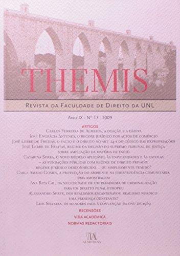 Themis - Ano IX - n.º 17 - 2009, livro de Vários