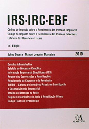 IRS IRC EBF, livro de Manuel Joaquim Marcelino, Jaime Devesa