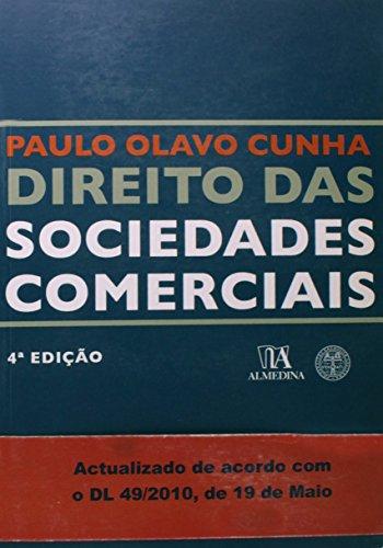Direito das Sociedades Comerciais, livro de Paulo Olavo Cunha