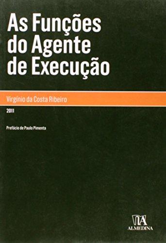 As Funções do Agente de Execução, livro de Virgínio da Costa Ribeiro