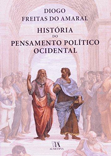 História do Pensamento Político Ocidental-Capa Dura, livro de Diogo Freitas do Amaral