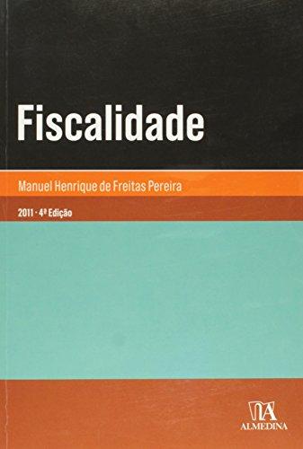 Fiscalidade, livro de Manuel Henrique de Freitas Pereira