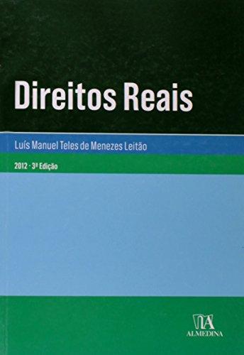 Direitos Reais, livro de Luís Manuel Teles de Menezes Leitão