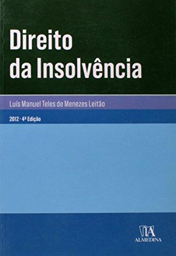 Direito da Insolvência, livro de Luís Manuel Teles de Menezes Leitão