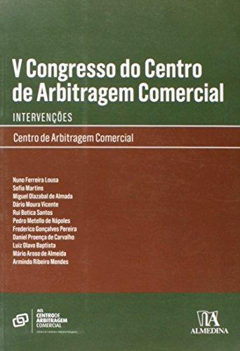 V Congresso do Centro de Arbitragem Comercial, livro de Vários