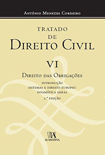 Tratado de Direito Civil Português - Volume VI, livro de António Menezes Cordeiro