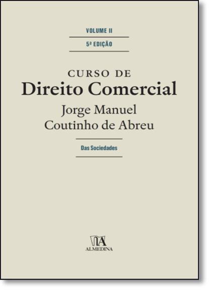 Curso de Direito Comercial - Vol.2, livro de Pedro Pais de Vasconcelos