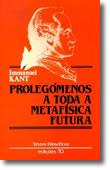Prolegómenos a Toda a Metafísica Futura, livro de Immanuel Kant