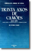 Trinta Anos de Camões - Vol. II, livro de Jorge de Sena