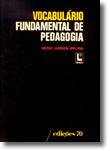 Vocabulário Fundamental de Pedagogia, livro de Ipsling, Heinz-Jürgen
