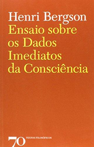 Ensaio Sobre Os Dados Imediatos da Consciência, livro de Henri Bergson