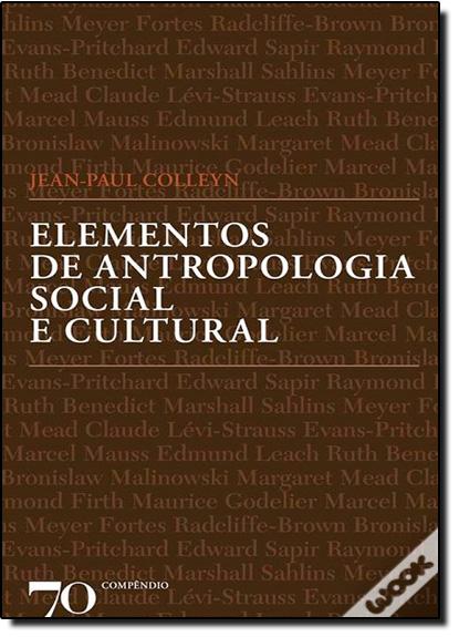 Elementos de Antropologia Social e Cultural, livro de Jean-Paul Colleyn