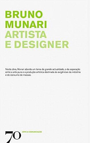 Artista e Designer, livro de Bruno Munari