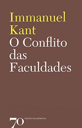O Conflito das Faculdades, livro de Immanuel Kant