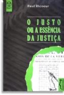 Justo Ou A Essencia Da Justiça, O, livro de Paul Ricoeur