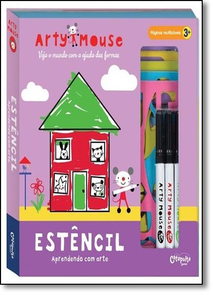 Arty Mouse: Estêncil, livro de Catapulta Editores