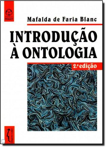 Introdução a Ontologia, livro de Mafalda de Faria Blanc